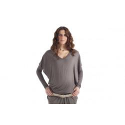 """Shirt """"BUTTERFLY"""" für Schwangerschaft & Stillzeit mit langen Ärmeln"""