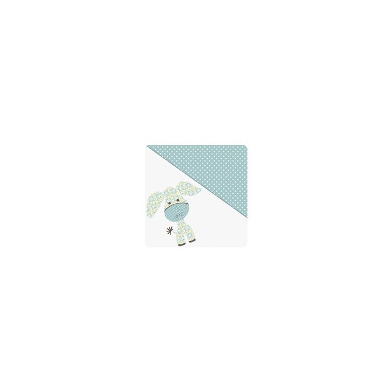 Stillkissen Blümchen blau