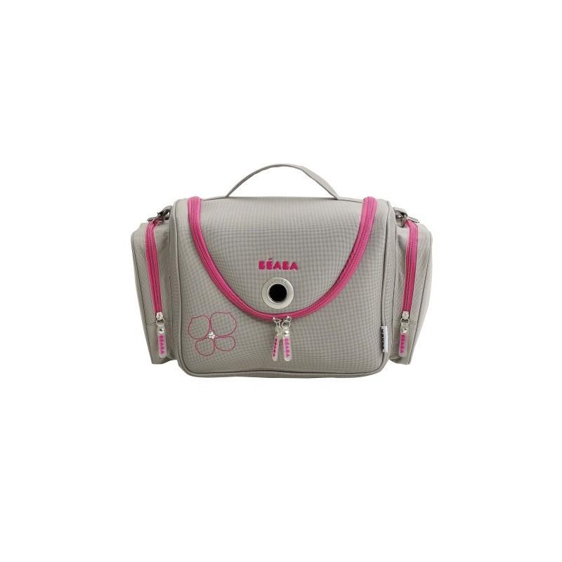 Vanity Medizintasche grau/pink