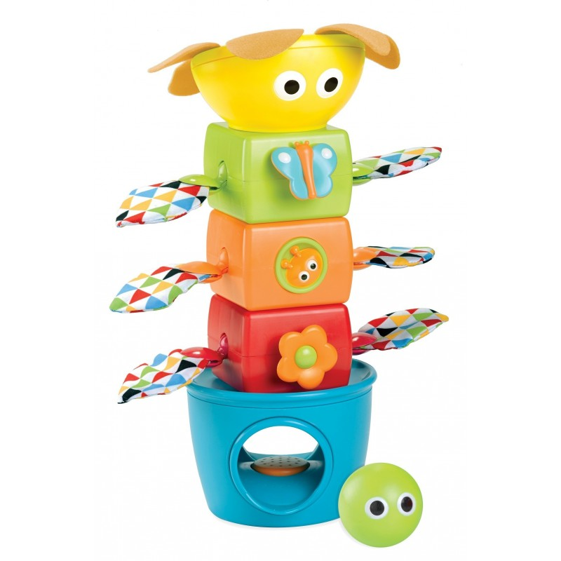 Steck-Turm mit Bällen