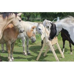 Kaum von eimem echten Pferd zu unterscheiden
