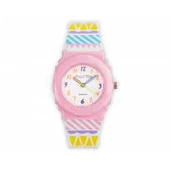 Farbenfrohe Kinder-Armbanduhr