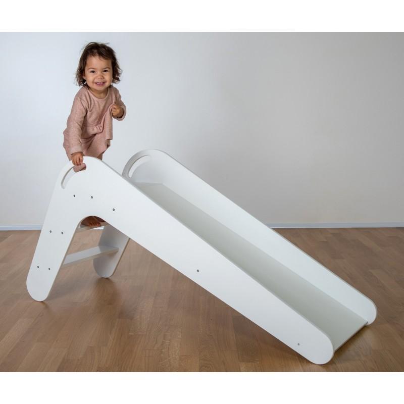 kinderrutsche viva aus holz kinderrutsche indoor rutsche. Black Bedroom Furniture Sets. Home Design Ideas