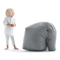 Elefant Carl in einem warmen Grauton