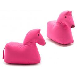 Pferd Lotte in Rosa