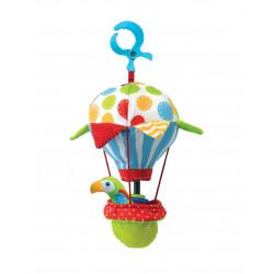 Greifspiel Ballon mit Papagei