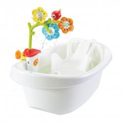 Eine für die Baby-Badewanne