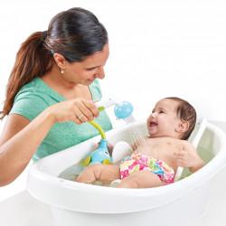 ... schon in der Babybadewanne