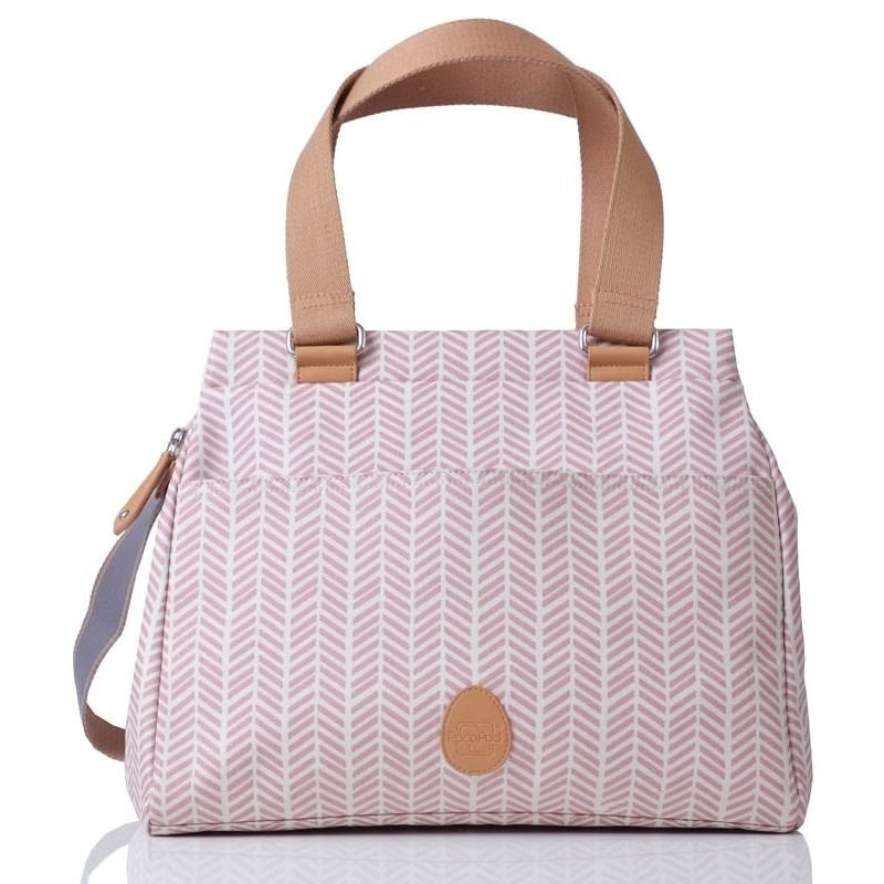 PacaPod Richmond - Dusty Pink Herringbone