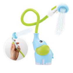 Babydusche Elefant in Blau und Grün