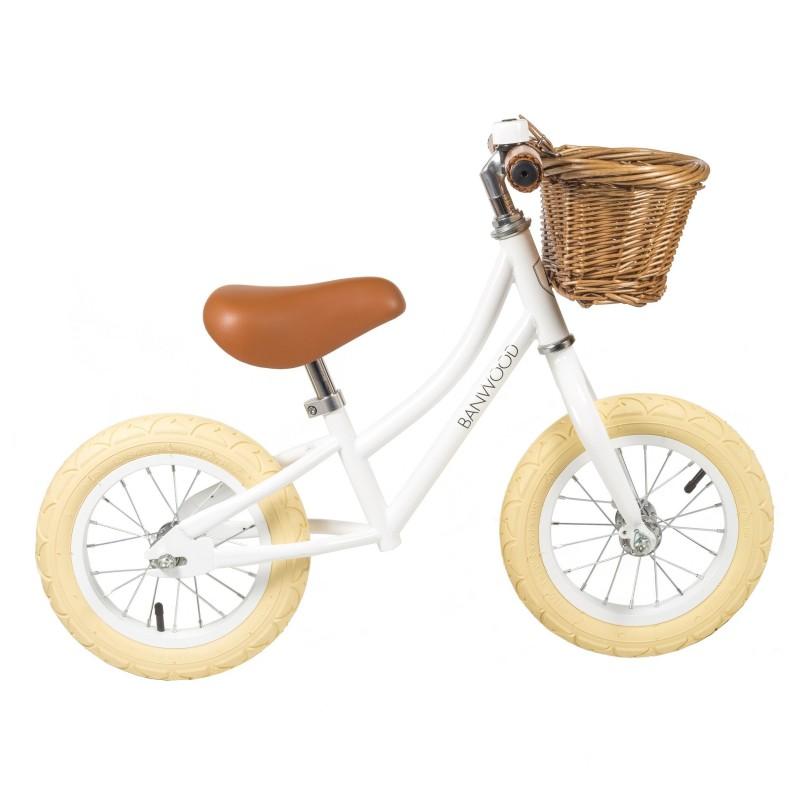 FIRST GO! Laufrad in Weiß