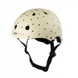 Helm in Creme mit Sternen